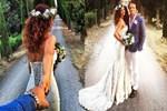 Banu Sağnak İtalya'da evlendi