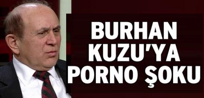 Burhan Kuzu'ya Twitter'da porno şoku!..