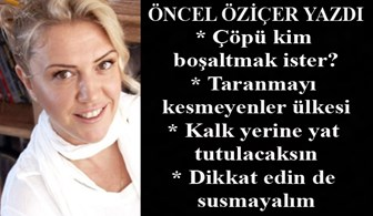 Öncel Öziçer yazdı: