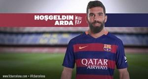 Arda Turan resmen Barcelona'da!