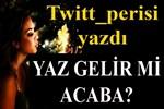 Twitt_perisi yazdı: 'Yaz gelir mi acaba?...'