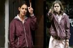 Ünlü aktris sokağın ortasında silah çekti!