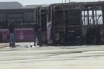 İstanbul Kayaşehir'de 2 otobüs yandı!