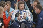 Rus kozmonot uzayda rekor kırdı!