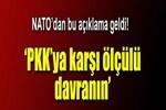 NATO Genel Sekreteri'nden PKK açıklaması!..
