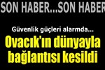 Tunceli Ovacık'ın dünyayla bağlantısı kesildi
