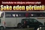 Doğu'dan gelen otobüslere akıl almaz taşlı saldırı!