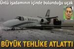 Atatürk Havalimanı'nda iş jeti pistten çıktı!