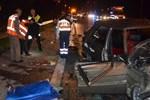 TEM'de kan donduran trafik kazası!