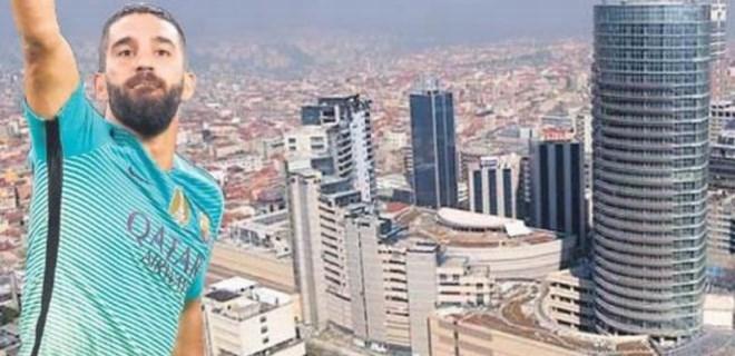 Arda Turan 4.5 milyona yeni ev aldı!