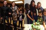 Ebru Şallı ve Harun Tan oğullarının doğum gününde buluştu