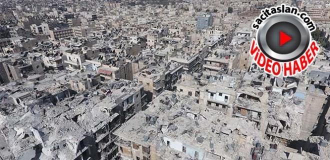 Güzel Halep artık bir harabe!