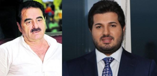 İbrahim Tatlıses'in Reza Zarrab'a desteği sürüyor