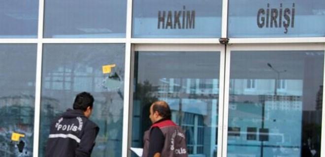 Kayseri adliyesine pompalı tüfekli saldırı