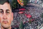 Şehit Uzman Onbaşıyı 15 bin kişi uğurladı