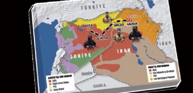 DEAŞ'a PKK eskortu!