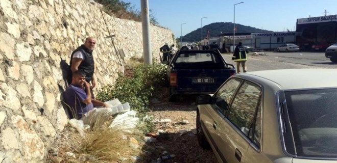 Antalya'da roketli saldırı!