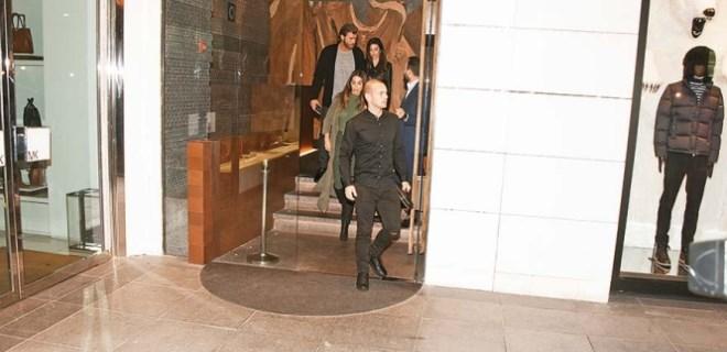 Wesley Sneijder - Kıvanç Tatlıtuğ buluşması