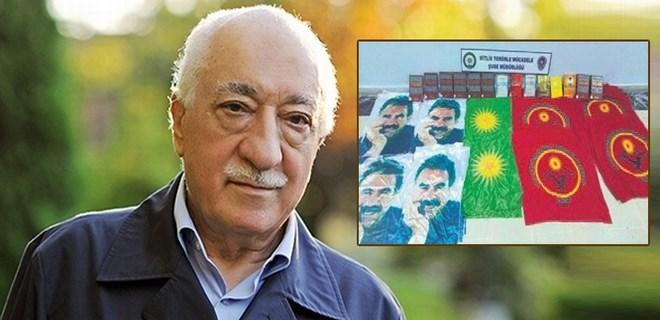 PKK üssünde FETÖ kitabı