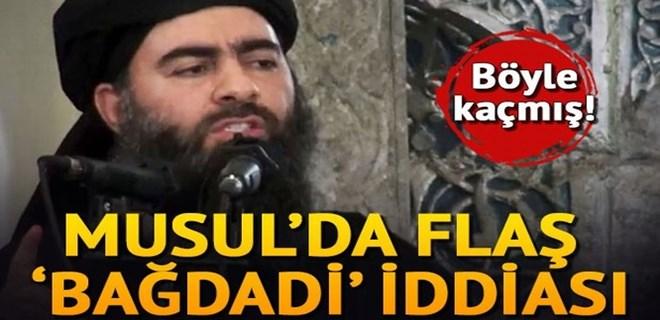 'Bağdadi hava saldırılarından son anda kurtuldu' iddiası!