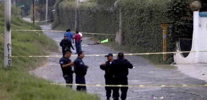 Meksika'da dehşet veren olay!