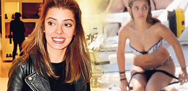 Selin Şekerci'ye plajda değiştirdiği bikinisi soruldu