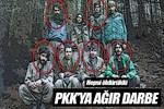 PKK'ya ağır darbe: Hepsi öldürüldü