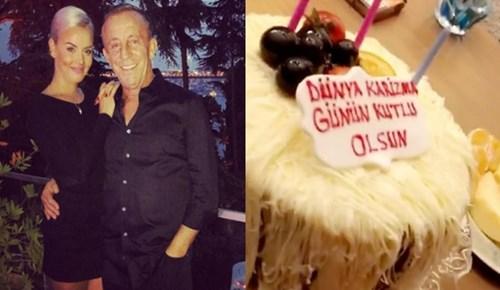 Sevgilisi Ali Ağaoğlu'nun 'Dünya Karizma Günü'nü kutladı