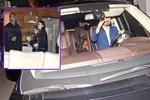 Alkollü Lindsay Lohan 'iki büklüm' saklandı!