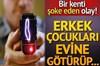 Adana'da, mahalledeki erkek çocuklarını sigara vermek bahanesiyle evine götürüp şok cihazı...