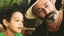 Cem Yılmaz oğlu Kemal ile video paylaştı