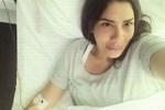 Işın Karaca'dan hasta yatağından paylaşım