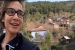 Müge Boz, köyden ev satın aldı