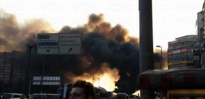 İstanbul'da patlama meydana geldi!