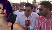 Davut Güloğlu röportaj verirken Sıla'ya küfretti