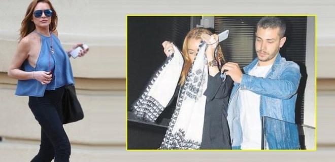 Lindsay Lohan'ın VIP eğlencesi