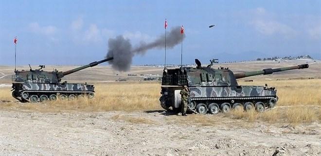 DAEŞ'e yoğun bombardıman!..