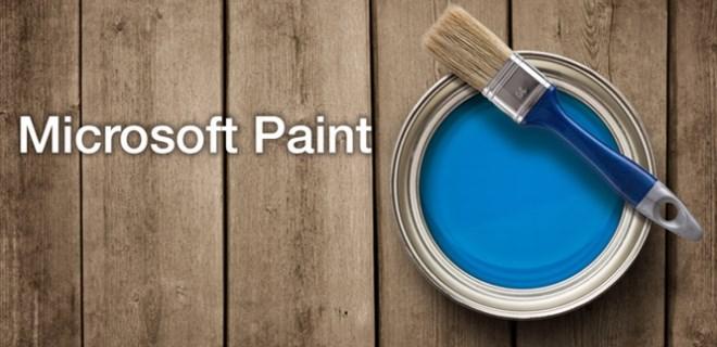 Microsoft Paint yenileniyor