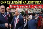 Aydın'da çelenk krizinde 2 gözaltı