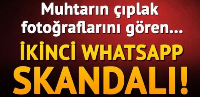 Muhtardan 'WhatsApp' grubunda şok paylaşım!