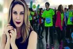 Demet Şener de maratona katıldı