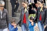 Kemal, annesinin elini bırakmadı