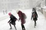 Okullara kar tatili!...