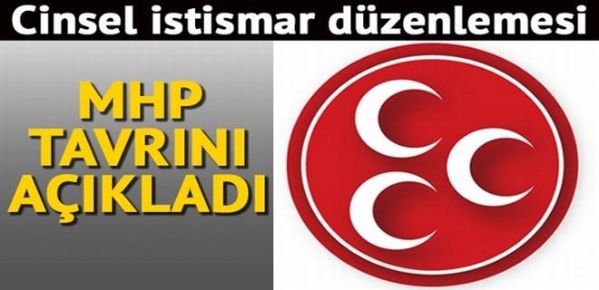 MHP'den 'cinsel istismar' düzenlemesine net tavır!