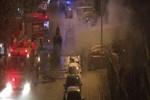 İstanbul Bakırköy'de korkutan yangın!..
