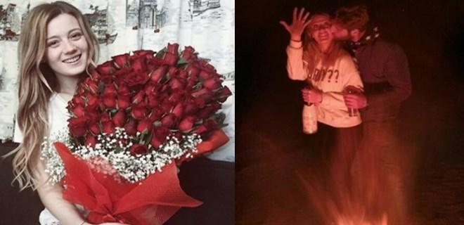 Gizem Karaca'ya romantik evlilik teklifi!