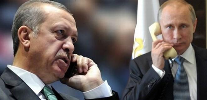 Erdoğan Putin ile görüştü