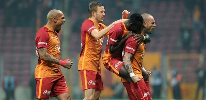Galatasaray kendine geldi!