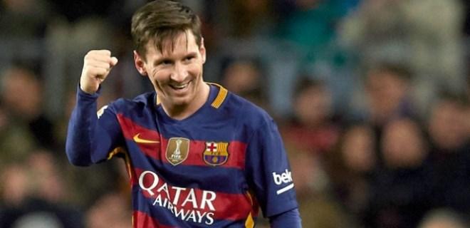Lionel Messi yine rekor kırdı!