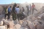 Halep'te yerleşim yerlerine saldırı: 46 ölü!